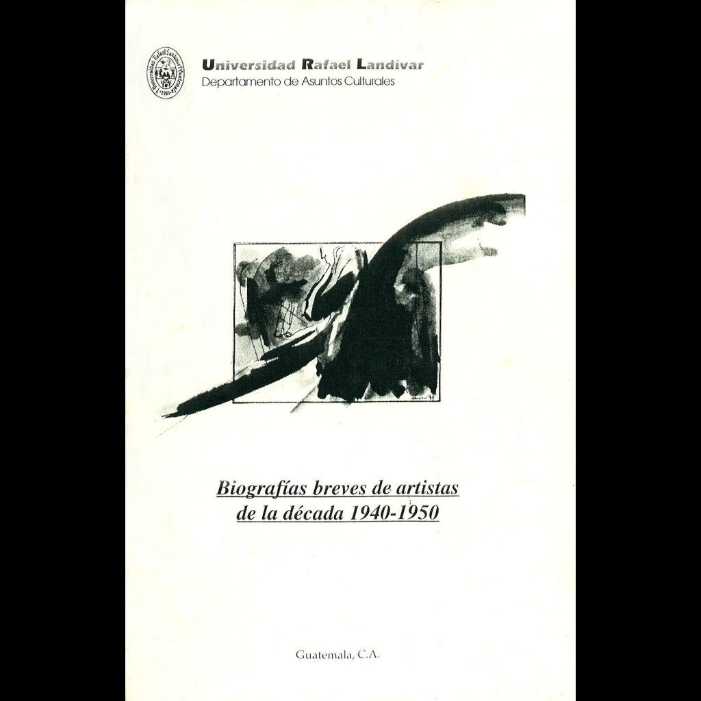 Biografías Breves De Artistas De La Década 1940-1950